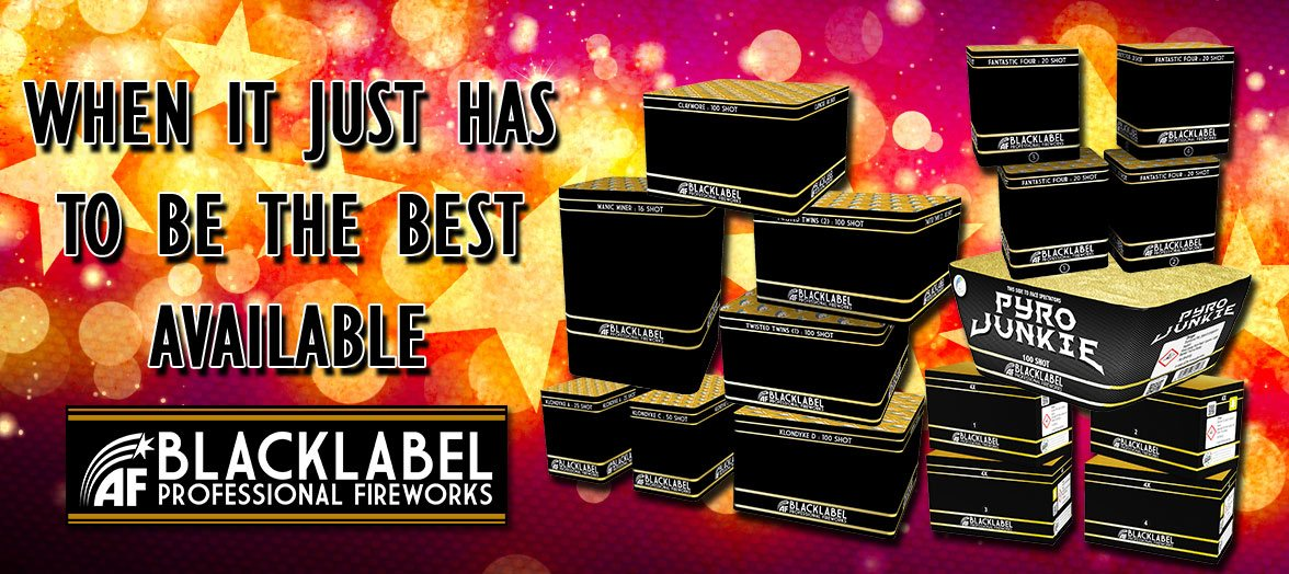 Blacklabel Semi Professional Fireworks